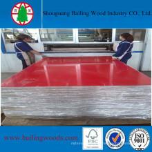 Е1 высокого качества Лоснистый UV MDF для использования мебели
