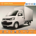 FAW gasoline engine box van truck light duty