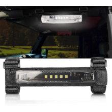 Universal Roll Bar Mount for LED Light UTV Interior Light Utility Courtesy Work Light Wraparound Roll Light Bar Dome Light for UTV ATV Truck