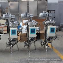 Automático Automático de Limpieza Automática de Succión de Cepillo Filtración de Agua