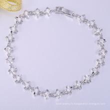 Mode spécial haute qualité blanc cooper noël bracelets
