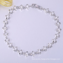 Fashion special high quality white cooper christmas bracelets