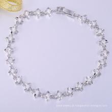 Moda especial de alta qualidade branco cooper pulseiras de natal