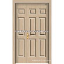 Полтора МДФ ПВХ двери (JKD-1813) дверь ванной комнаты из Китая Топ 10 бренд дверей