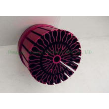 Waterproof Round Anodized Heat Sink LED Cold Forged , Alumi