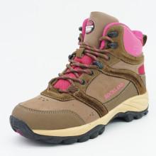 Zapatos de cuero genuino de senderismo para las mujeres