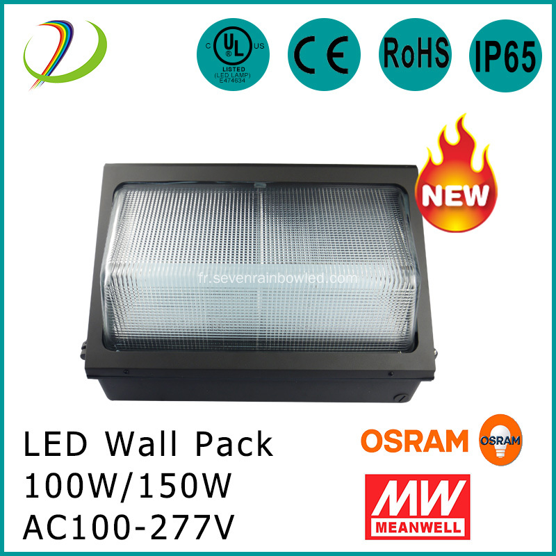 Ensemble mural 100W Led