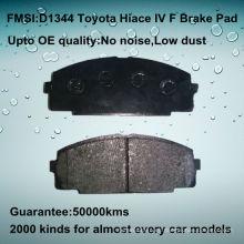 D1344 calidad OE Toyota Hiace pastilla de freno