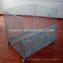 cage métallique utilisée de stockage sécurisé