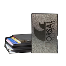 Customized professional business card steel