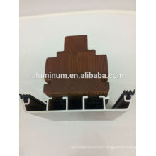 wooden aluminum window frame profiles