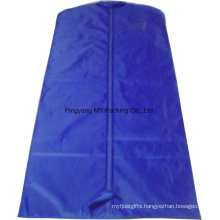 Custom Suits Cover Packing Garment Bag for Dress with Clear PVC Window