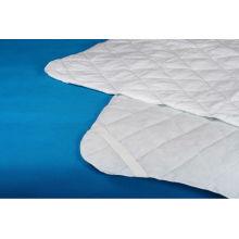 protector de colchón acolchado del algodón del hotel del hospital del poliéster