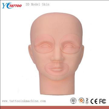 Ferramentas de prática - pele modelo 3d