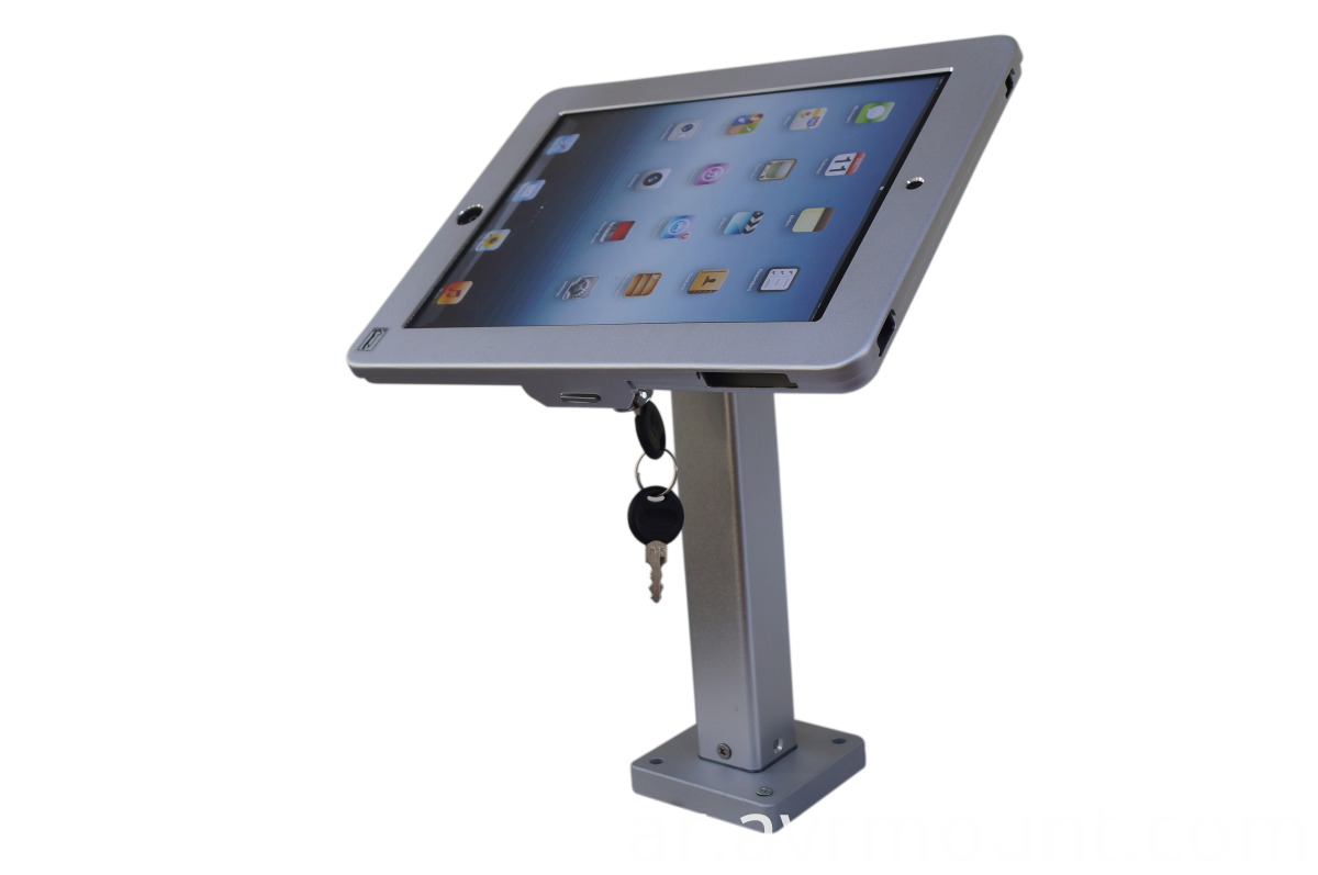 IPAD tabletop mount side