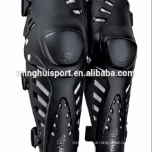 Novo 2015 Corrida Mens Guys Pro Joelho / Shin Guards MX Motocross Preto Joelho Guarda
