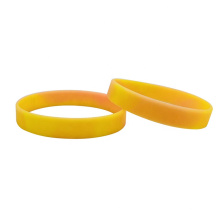 Custom Printing Luminous Rubber Silicone Glow Wristband
