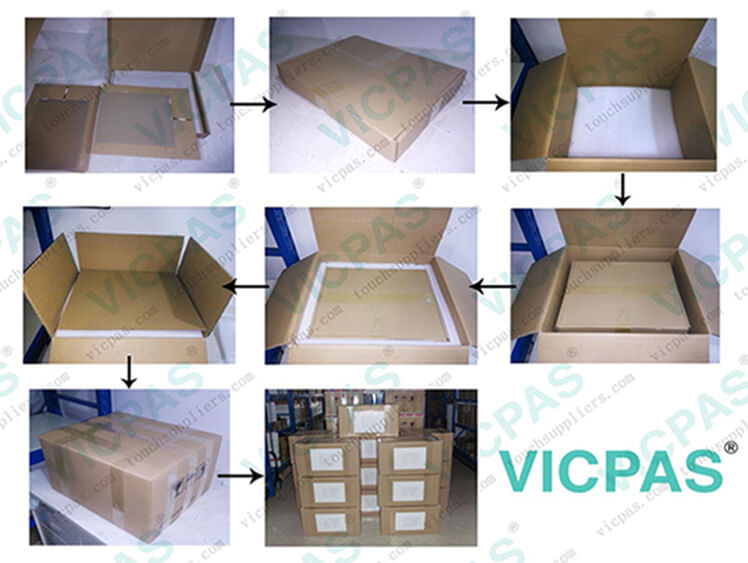 touch screen glass package