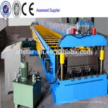 Panel de acero galvanizado popular piso cubierta máquina formadora de rollos