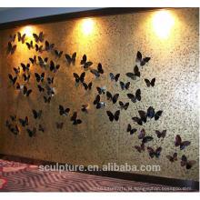 2016 decoração de parede de relevo novo arte moderna para decoração de hotel