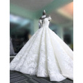 vestido де феста свадебное платье супер пухлые 3D цветы глубокий V - образным вырезом без рукавов свадебные платья 2017