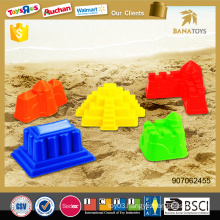 Summer beach sand castle toys toy colorful plastic mold
