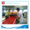 China Venta caliente de estructura de acero hoja de techo con revestimiento térmico-protector