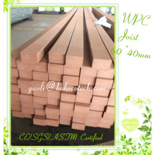 Substitution de bois solide WPC Posting Anti-Corrosion Decks