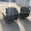 Horquillas para paletas de piezas para equipos de manipulación de materiales.