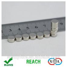 Dia6x3.17mm небольшая круглая кнопка магнит