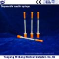 Disposable 1cc Insulin Syringes 0.5cc Insulin Syringes 0.3cc Insulin Syringes (ENK-YDS-031)