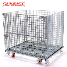 Hot Sale! stackable wholesale metal storage wire mesh container