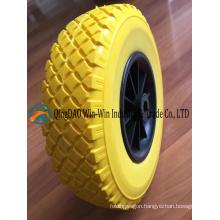 """260mm Flat Free Hand Truck Tire 10""""X3.50-4"""