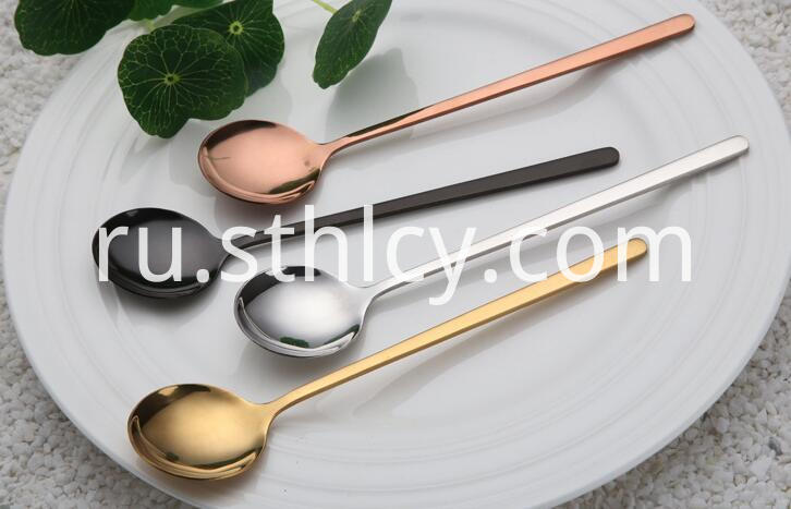 Stainless Steel Long Handled Spoon