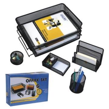 Mesh Wire Office Desk Set