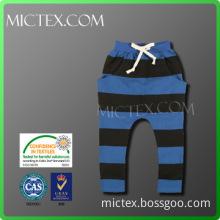 Boy\'s long harem pants kids OEM OEKO-TEX,ISO9001