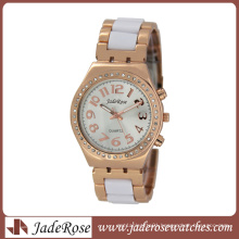 Charm Rosegold Alloy Lady Quartz Watch