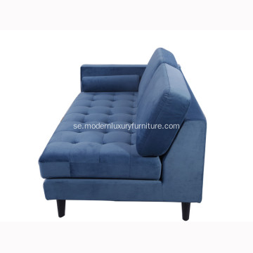 Modern Sven Fabric Corner Sofa Set