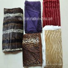 100% Polyester PV Flor Decke Fleece-Decke mit verschiedenen Drucken