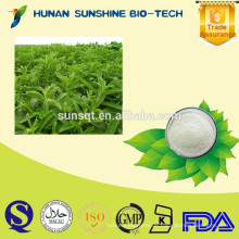 Natürlicher Pflanzenstevia-Extrakt Stevia-Pulver / Stevia-Blattextrakt