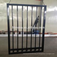 Corrimão de alumínio de escada de ferro forjado ao ar livre