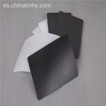 Doble color Termal inerte Smooth HDPE Geomembrane