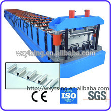 Pass CE and ISO YTSING-YD-0884 Galvanized Corrugated Floor Decking Roll Forming Machine Manufacturer