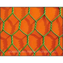 2015 China PVC revestido ferro Hexagonal Wire Mesh