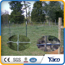 Fence in steel mesh braided fence wire