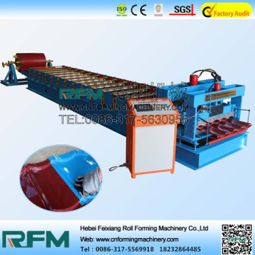 Glazed Tile Metal Roof Panel Machine