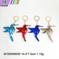 Rabbit - shaped sequined key chain bag pendant