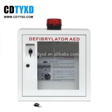 Para AED Armário para desfibrilador interno com alarme