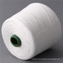 100% gesponnener Polyester-Beutel-Schließungs-Thread im rohen Weiß