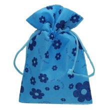 bolsa de presente de joias em tecido não tecido